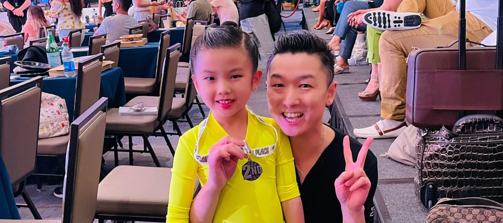 2021 Desert Classic Dancesport: Congratulation to our 6 years old Callie to won 2nd Place on Pro/AmTB Latin Championship !
