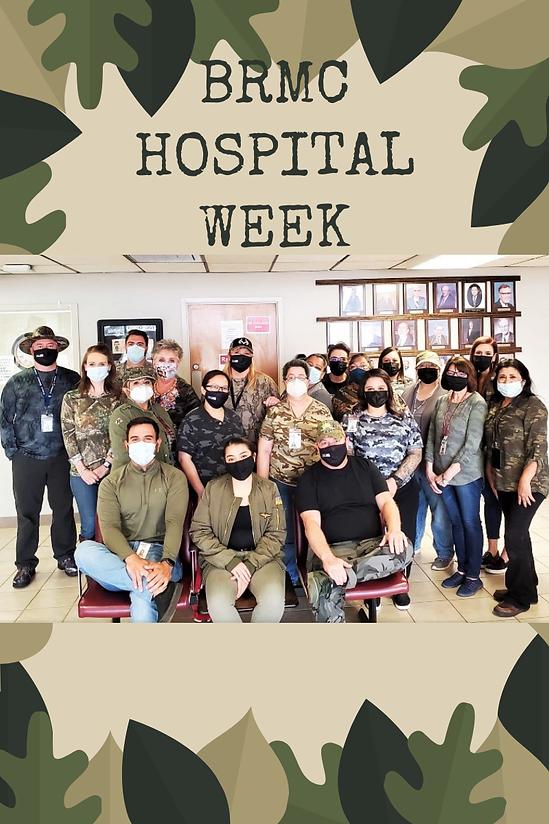Hospital week - Military