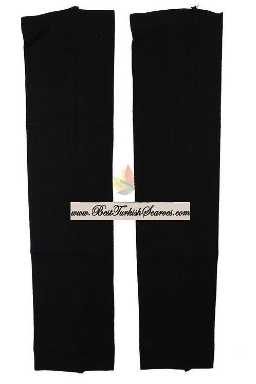 Plain arm sleeves/ black
