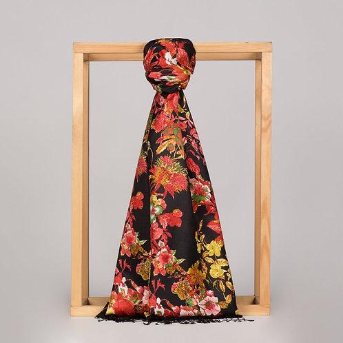 Floral Collection-6136-Hercai Menekse Siyah