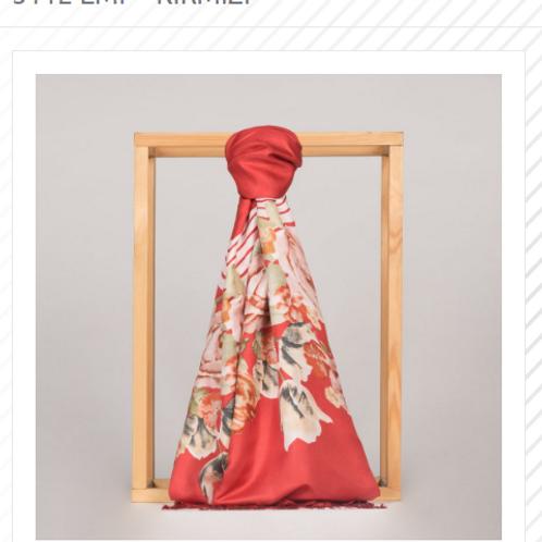 Floral Collection-5112-Kirmizi
