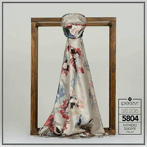 Floral Collection- 5804-Katmerli Sakayik/Gumus