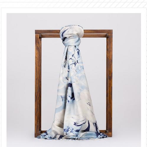 Floral Collection-5722- Lacivert