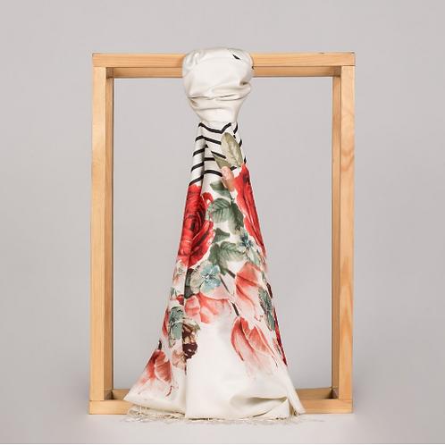 Floral Collection- 5112=Gul Sepeti-Inci Beyazi