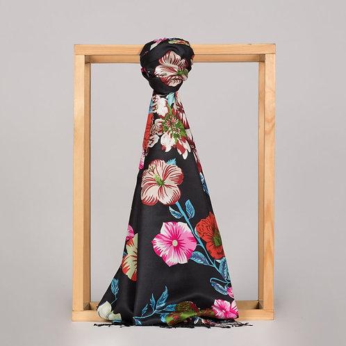 Floral Collection- 6107-Akdeniz Meltemi Siyah