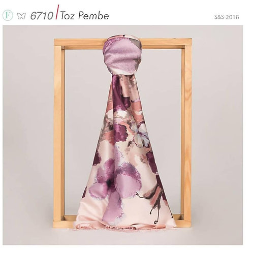 Floral Collection-6710/Toz Pembe