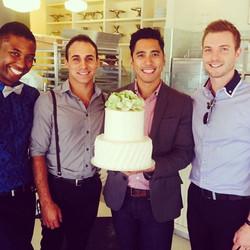 Wedding Cake at Magnolia Bakery