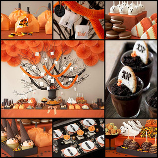Halloween Goodies Made With A Ghostly Budget