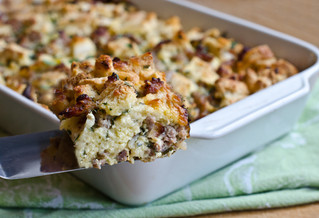 Savory Bread Pudding, A NEW Holiday Tradition!