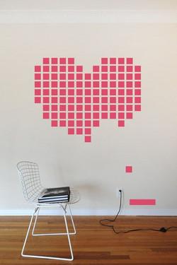 Post It Wall Art