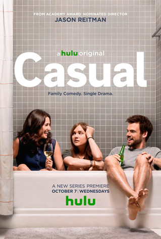 """""""Casual"""" on HULU - A Show About Dating and Life."""