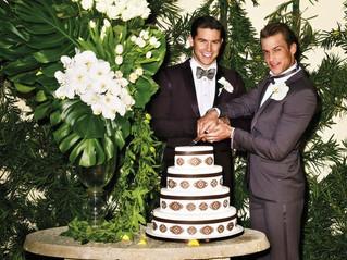 Bow Ties & Wedding Cake:  A Gay Wedding Blog