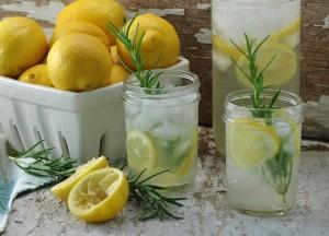 Say hello to Spring with Rosemary Lemonade!
