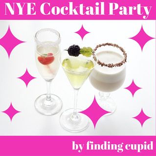 New Years Eve Cocktails by Cupid
