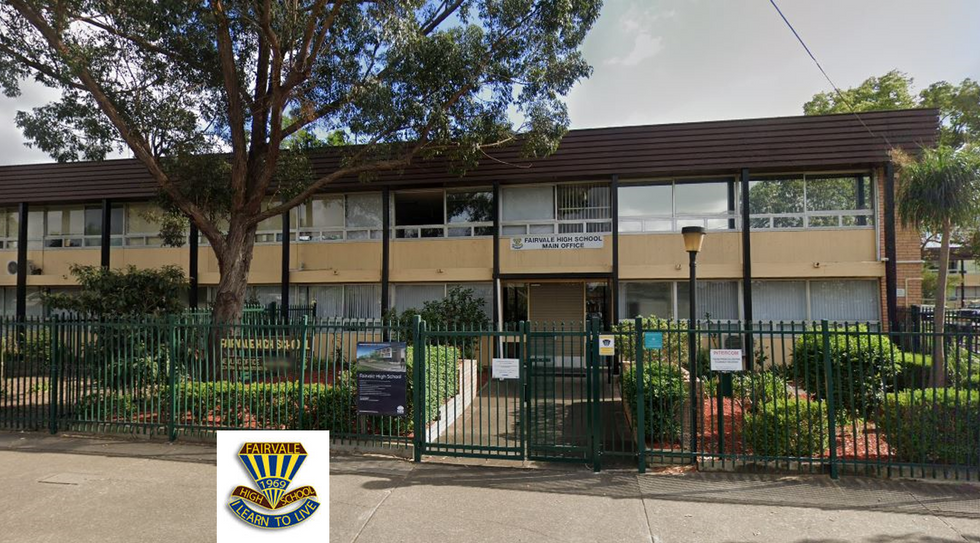 Fairvale High Front and Logo.png