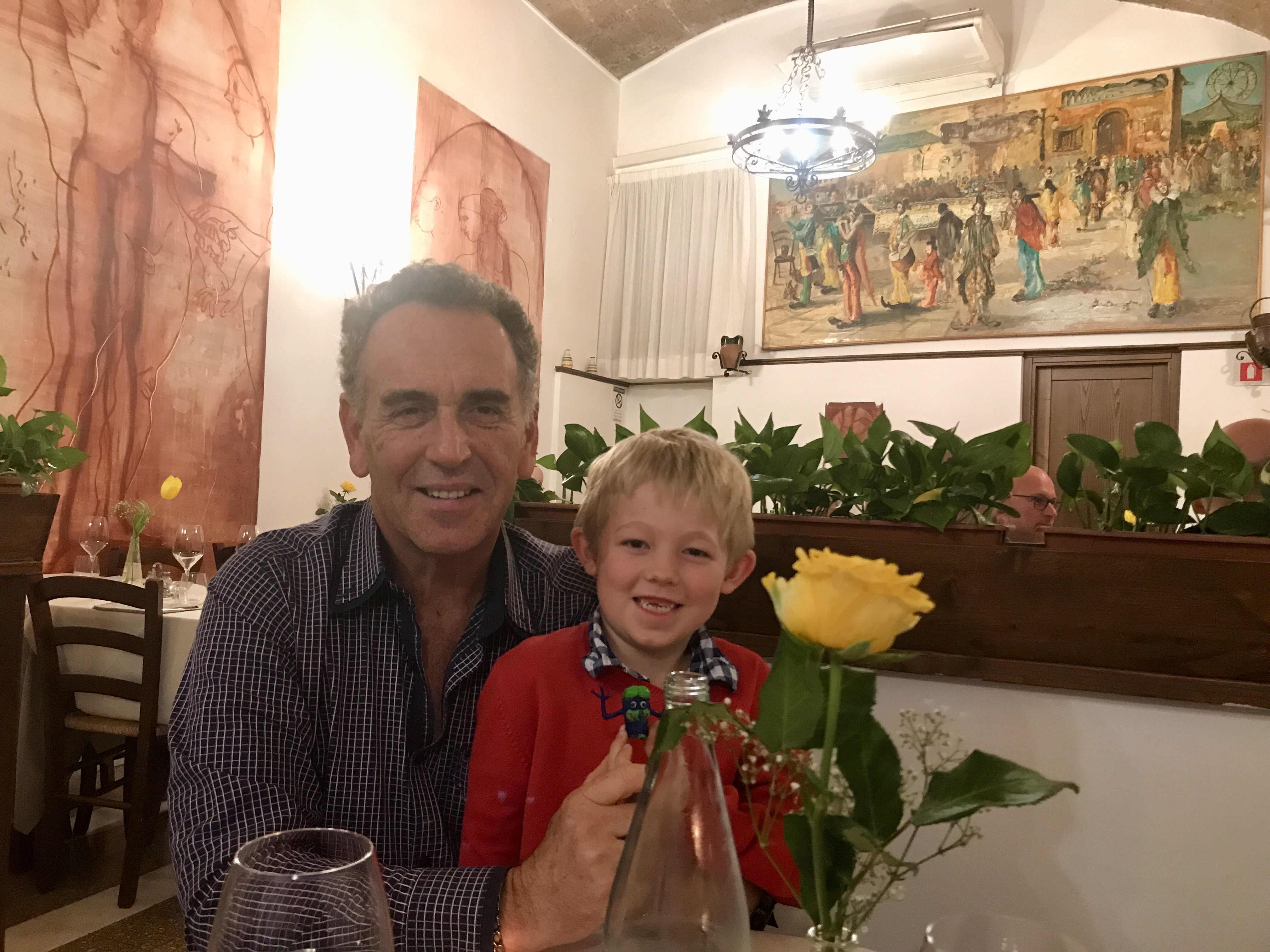 dinner in Orvieto