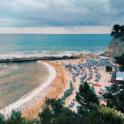 San Michele beach Sirolo