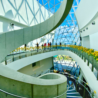 Staircase in The Dali Museum