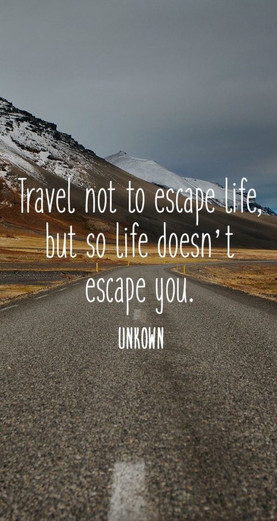 Don't travel?