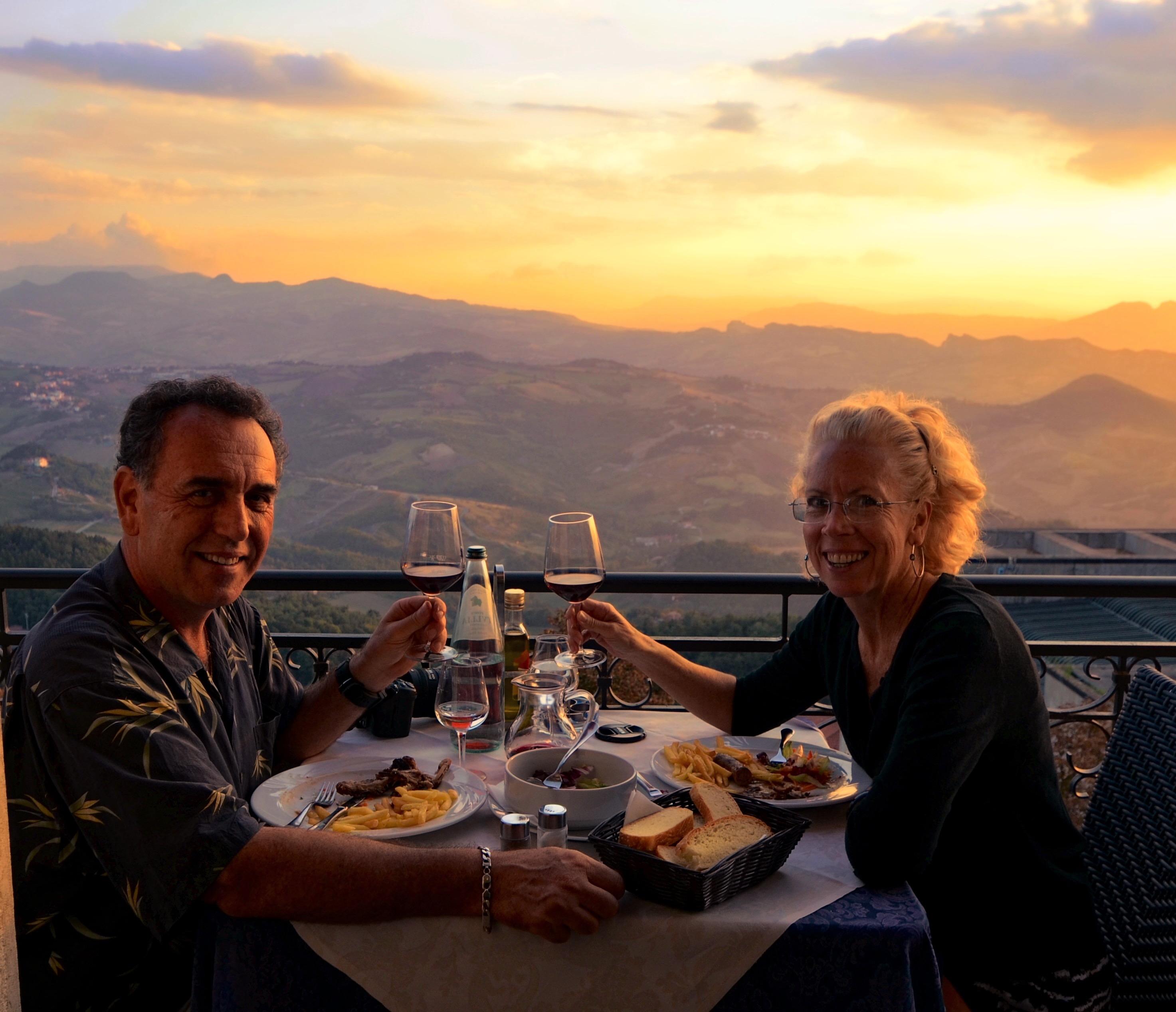 San Marino lunch