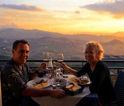 Lunch in San Marino