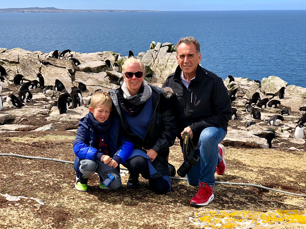 Falkland Islands with the Rockhopper Penguins