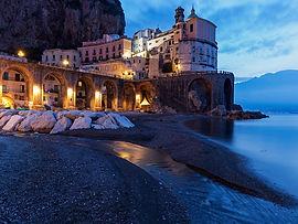 Atrani a village in Campania italty