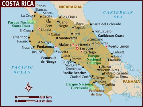 Costa Rica is not an island