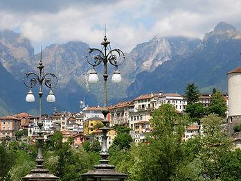 Belluno a village in Veneto Italy