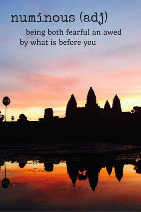 What is before you