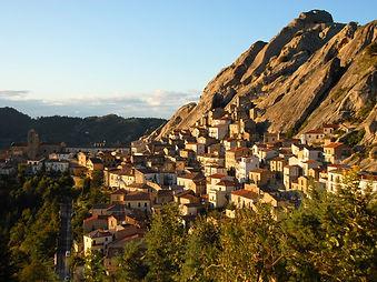 Pietrapertosa a village in Basilicata Italy