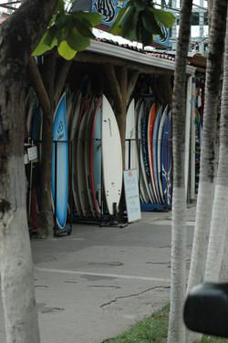 Jaco surfboard shop