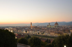 View of Arno River Florence
