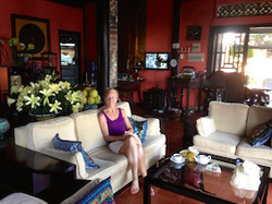 me at Nina Spa in Mui Ne Viet Nam