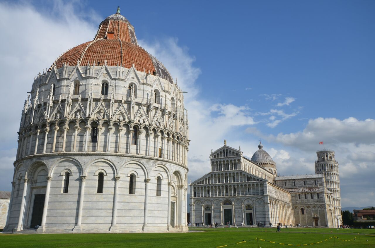 The Cathedral in Pisa