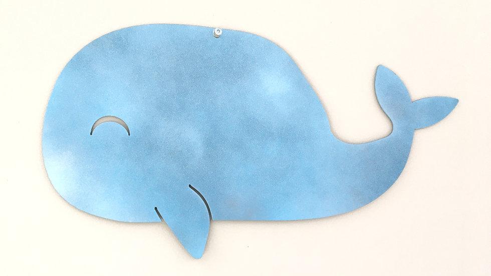 Whale nursery decor