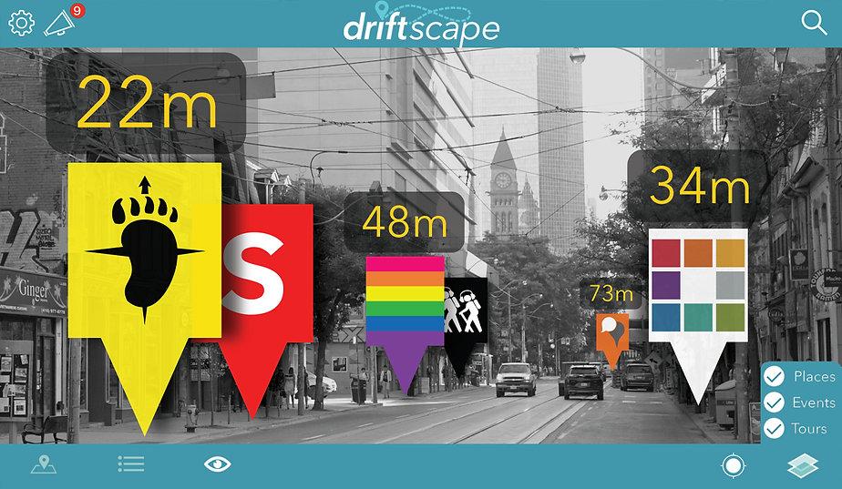 Driftscape AR Mode