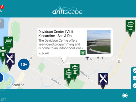 Kincardine partners with Driftscape for new lens on tourism - A Feature by The Kincardine Record