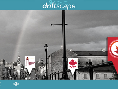 Journey Through the Historic Town of St. Marys with the Driftscape App