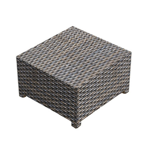 Square Coffee Table w/ Glass