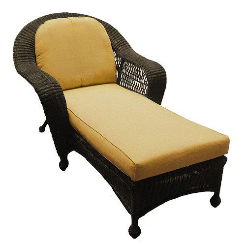 Single Adjustable Chaise Lounge
