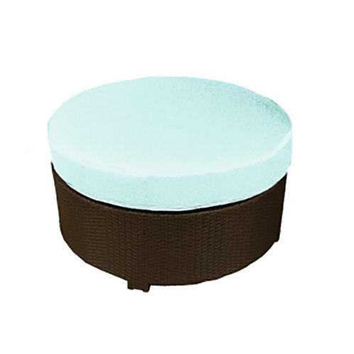 Contour Large Round Ottoman