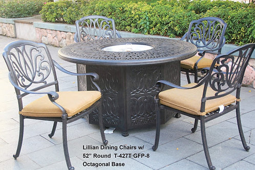 Lillian Dining Chairs w/ Firepit