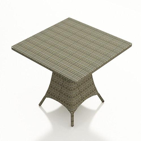 "36"" Square Pub Table w/ Glass"
