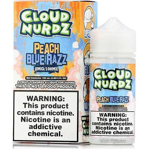 Cloud Nurdz – Peach Blue Razz 100mL Bottle