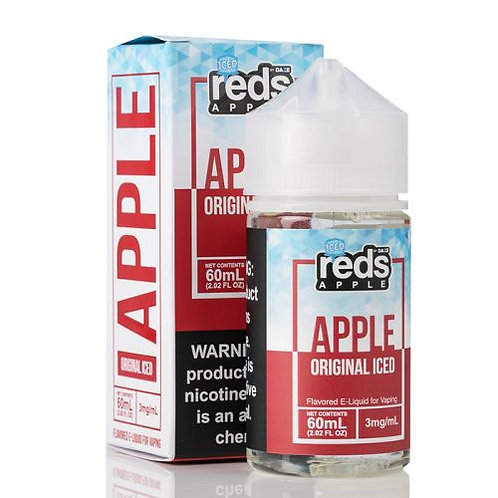 ICED APPLE - Red's Apple E-Juice - 7 Daze - 60mL