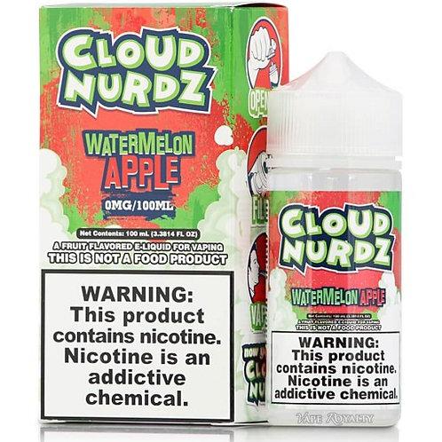 Cloud Nurdz – Watermelon Apple 100mL Bottle