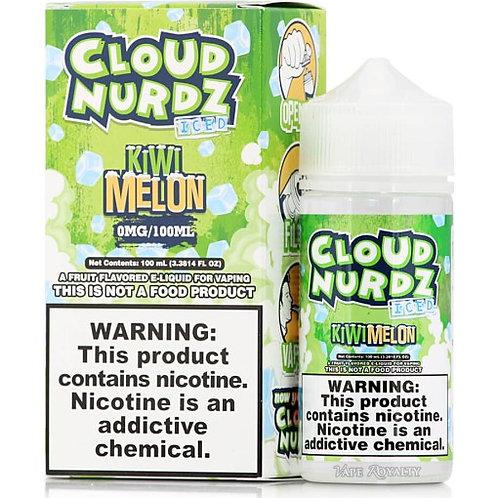 Cloud Nurdz Iced – Kiwi Melon 100mL Bottle