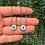 Thumbnail: Escapulário Olho Grego Madre Pérola (cores)
