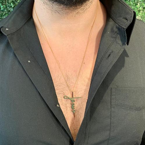 Colar Cruz Jesus